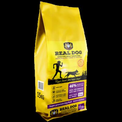 Real Dog Sensitive No Grain...