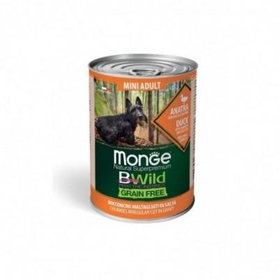 Monge Bwild grain free mini...
