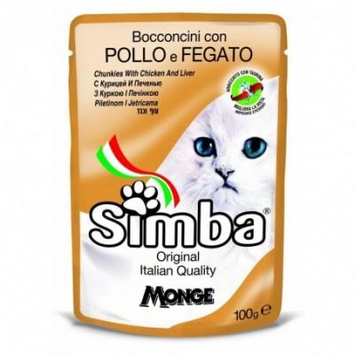 Simba konservai katėms su Vištiena 415g