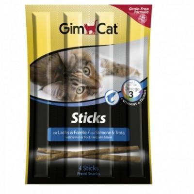 GimCat Sticks Salmon &...