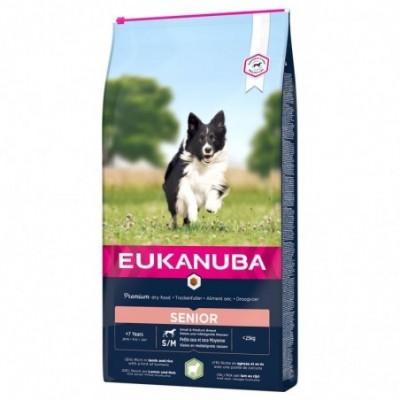 Eukanuba Senior (ėriena ir...